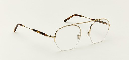 Moscot Punim se color gold-spot-tortoise